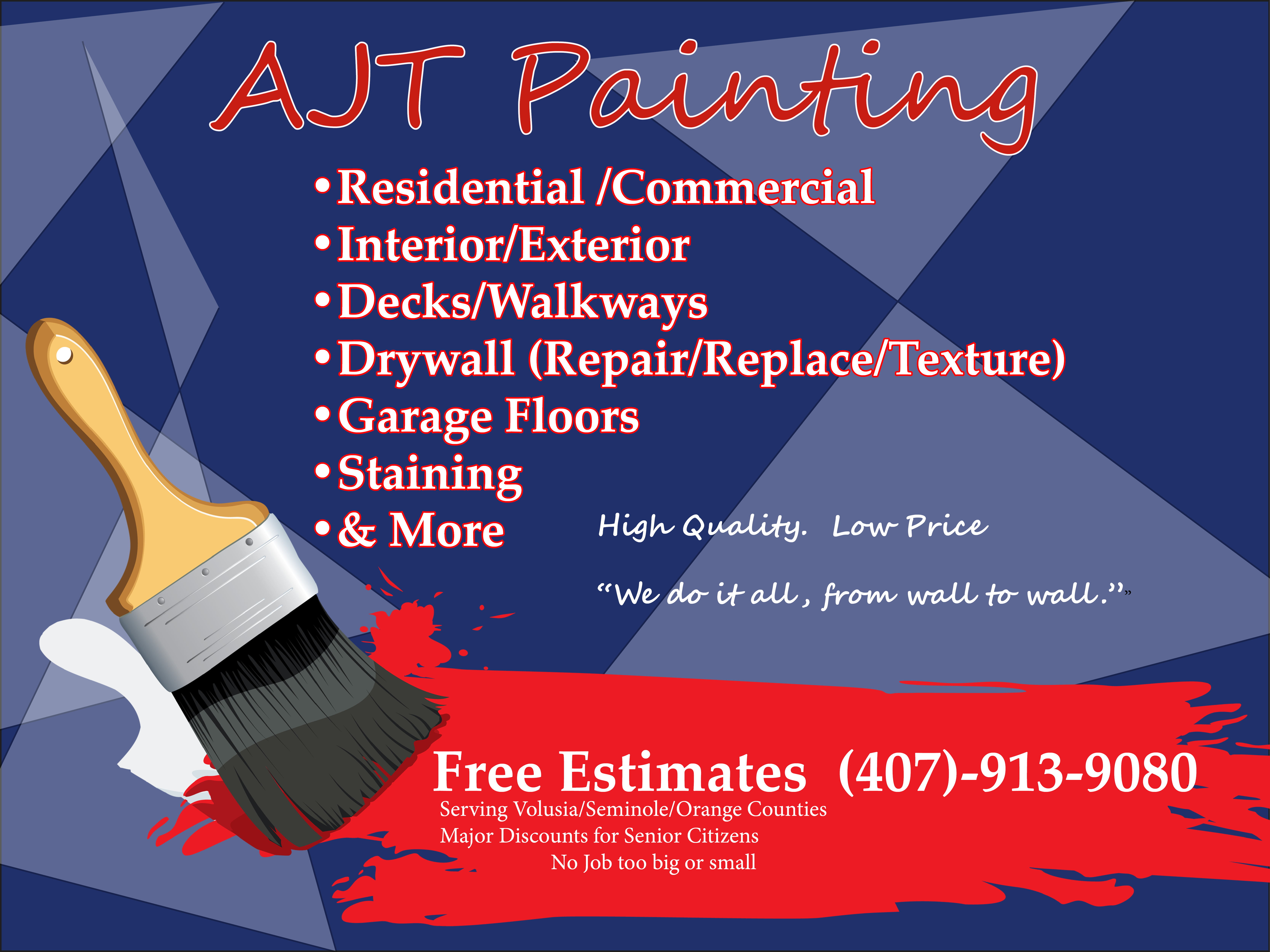 Pin by AJT Painting on AJT PAINTING Serving all of Central