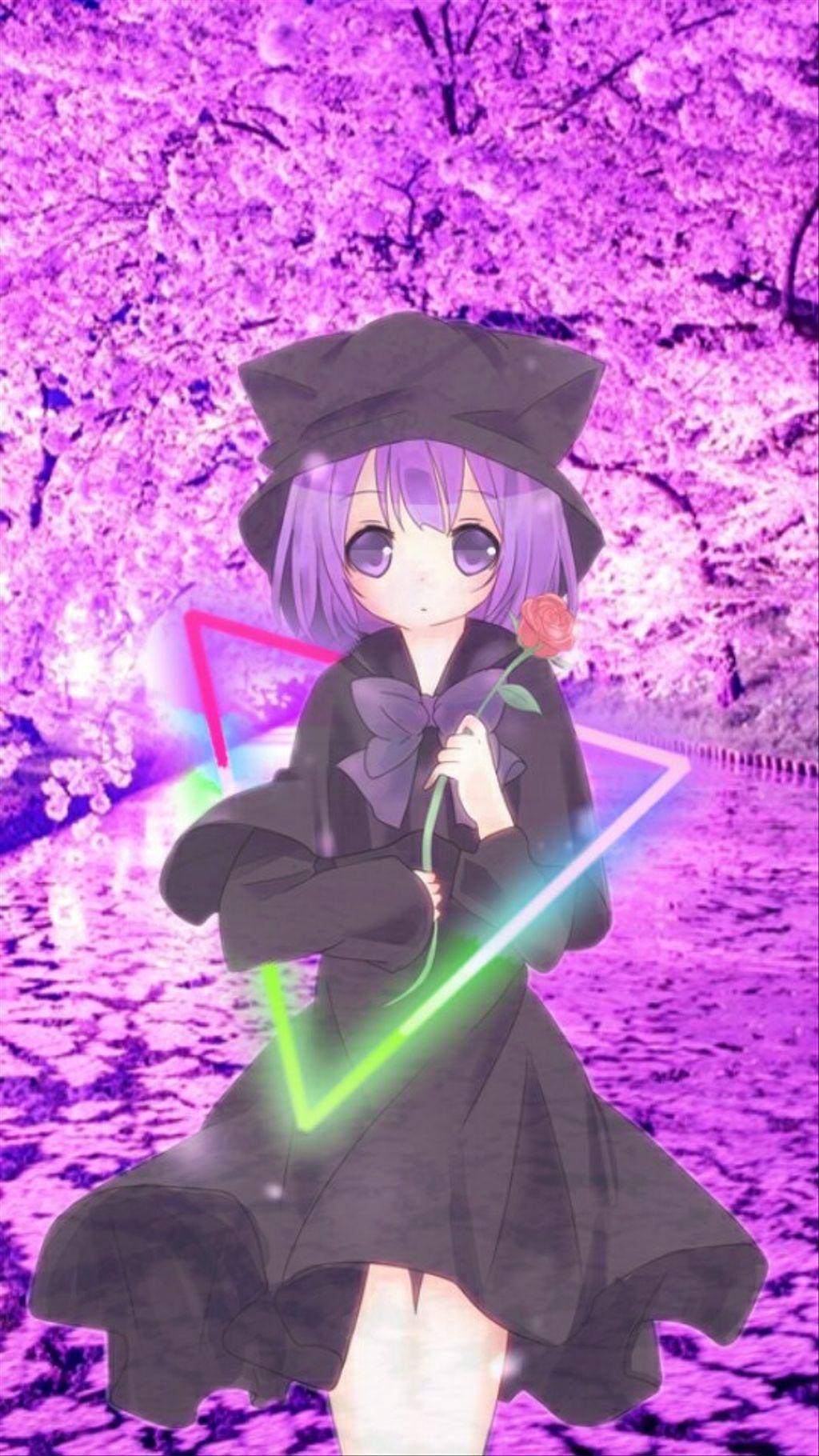 Wallpaper girl anime edit by Yukiko.27 Papel de