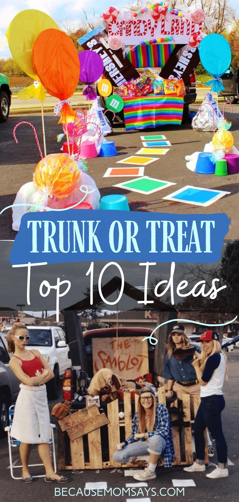 Fantastic Trunk Or Treat Ideas Trunk Or Treat Halloween Party Treats Fun Halloween Food