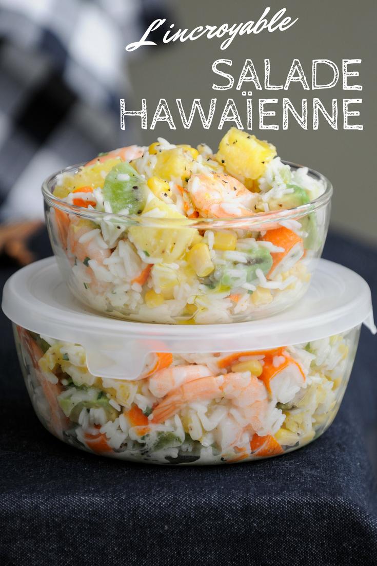 salade hawaienne recette en 2019 food salade hawa enne salade et recette. Black Bedroom Furniture Sets. Home Design Ideas