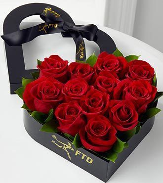 Ftd Captivate My Heart Romantic Rose Arrangement 3 Rangkaian Bunga Buket Bunga