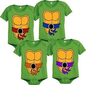 Tmnt Turtle Baby Bodysuit Teenage Mutant Ninja Turtles