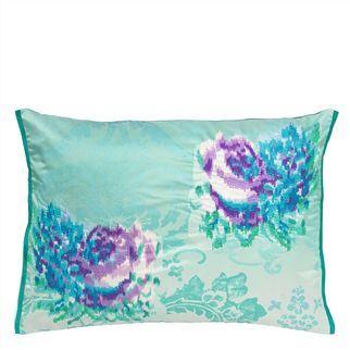 Fergana Jade Throw Pillow