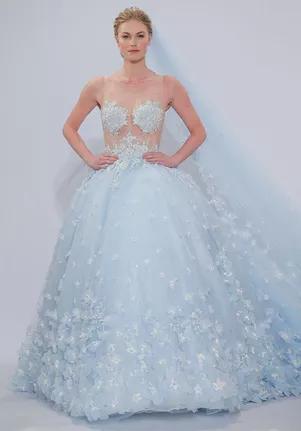 3056 in 2020 | Wedding dresses, Blue