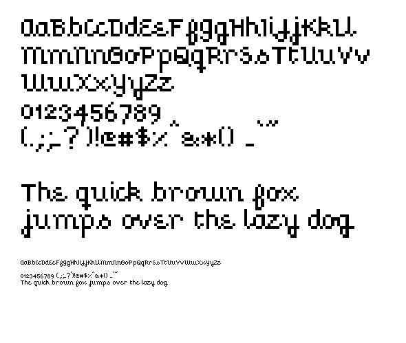Pixel Font, Fonts Design, Professional Fonts