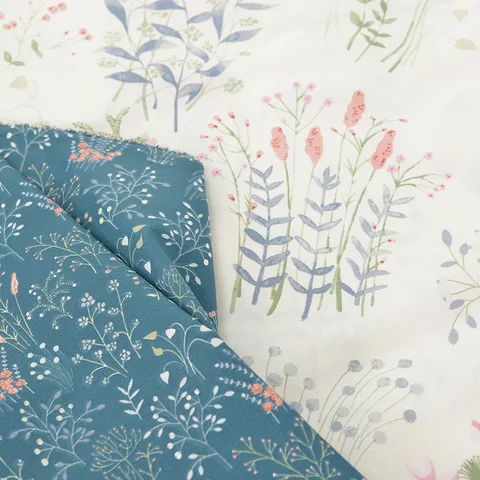 Leaf Series 100 Cotton Twill Fabric For Diy Sewing Quilting Fashion Dress Making Material For Baby Child And Dolls In Fa Cotton Twill Fabric Fabric Diy Sewing