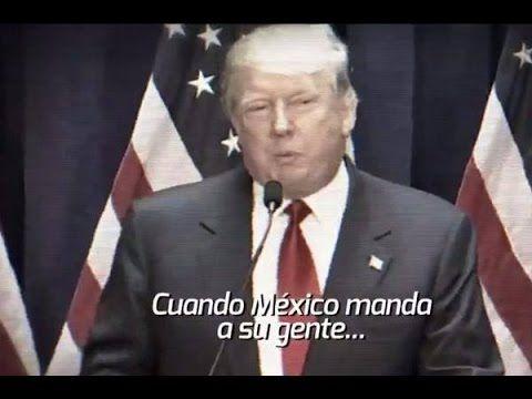 trump, promo, muro, Mexico vs USA (Donald Trump) PROMO Tv Azteca Mexico vs Usa 10 Octubre 2015 VIDEO HD PROMO - YouTube