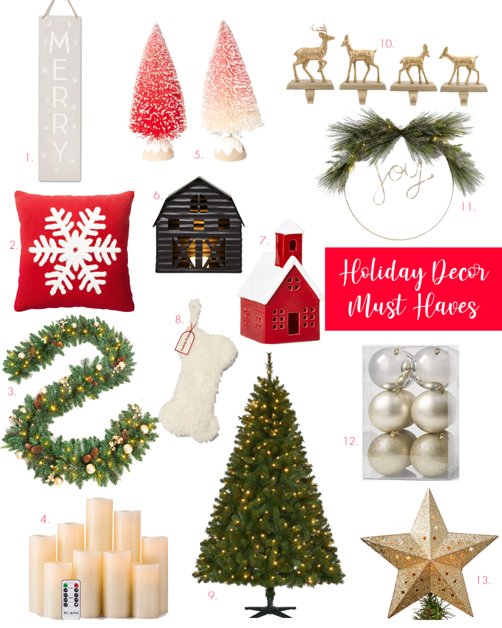 Stylish Holiday Decor Must Haves In 2020 Holiday Decor Decor Christmas Decorations