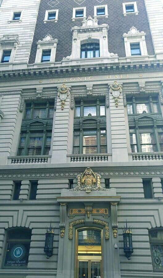 Grand Lodge of New York, USA.