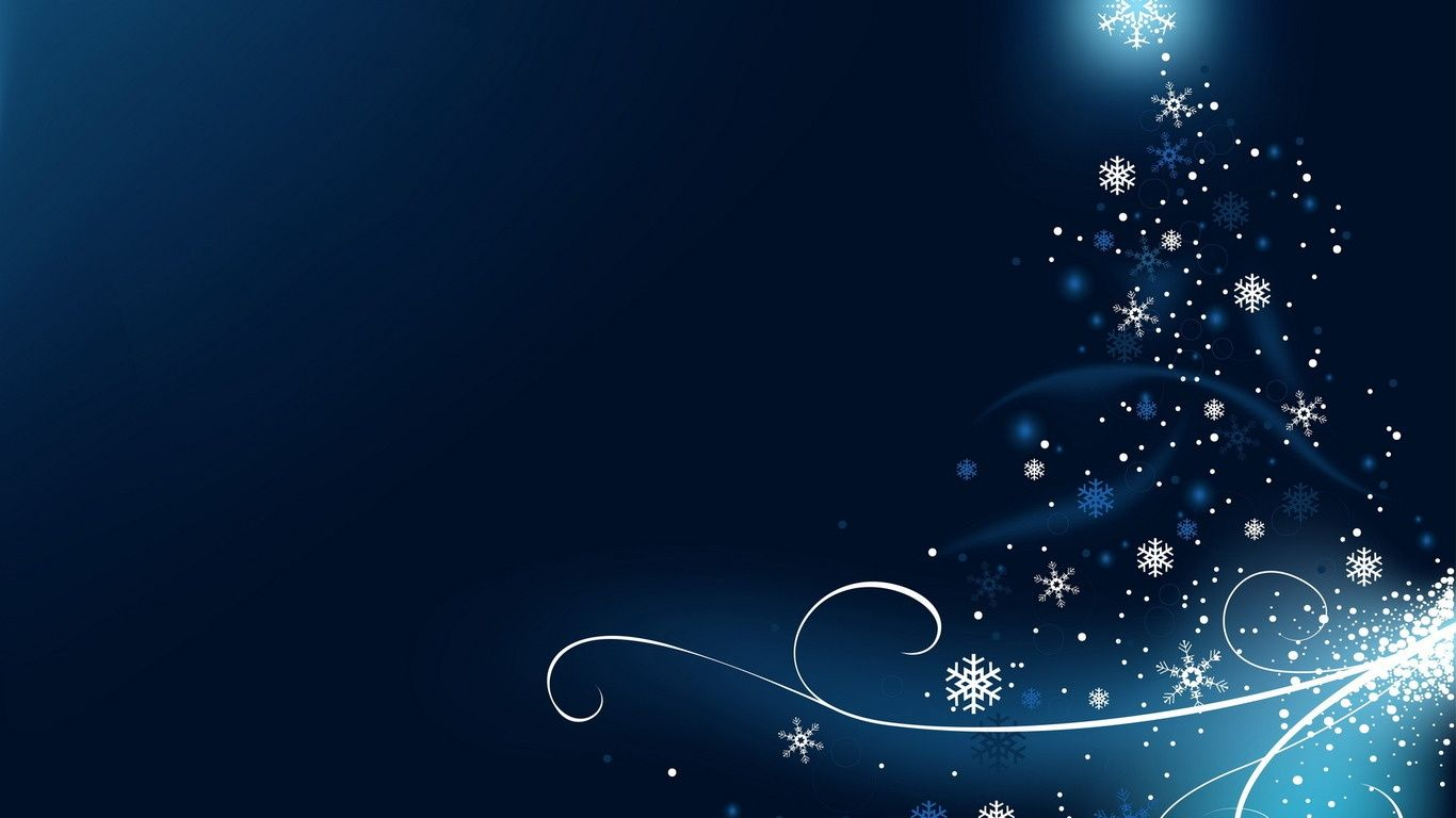 Blue Background  Snowflake wallpaper, Holiday wallpaper