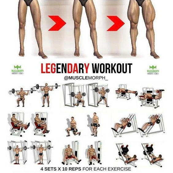 """3,254 Me gusta, 12 comentarios - Bodybuilding & Fitness (@gym.legends) en Instagram: """"You can't spell LEGENDARY without LEG DAY. Want Bigger Legs? Try this workout LIKE if you found…"""""""