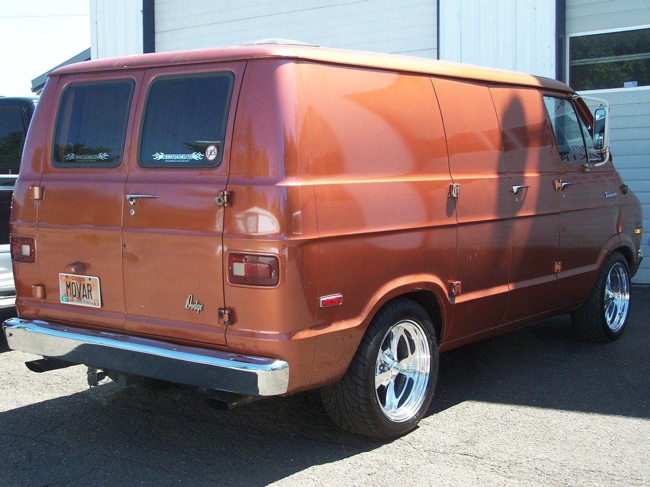 1972 Dodge B100 Tradesman | Custom Dodge Vans: 1971-78 | Pinterest
