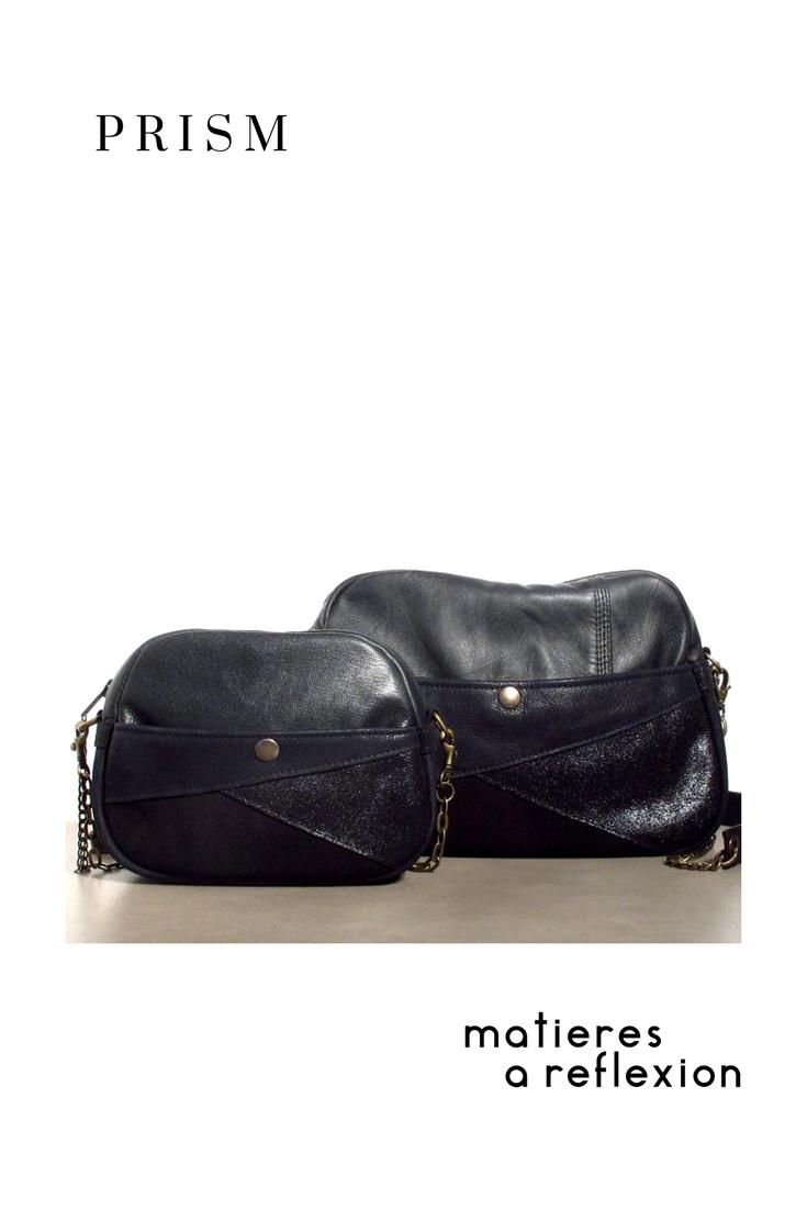le berlingot prism mati res r flexion est disponible en deux tailles sac ou mini au choix. Black Bedroom Furniture Sets. Home Design Ideas