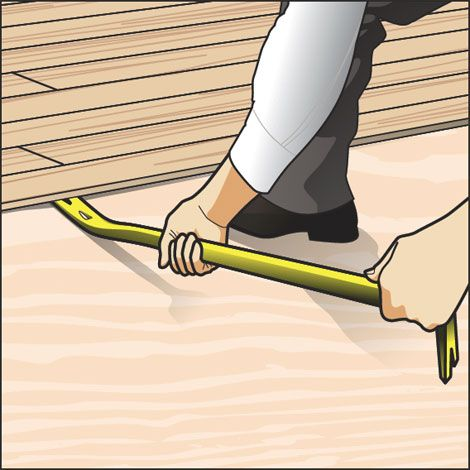 How To Remove Wood Flooring In 3 Easy Steps This Will Definitely Come Handy