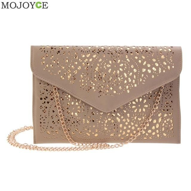 Clutch Purse For Women Envelope Handbag With Shoulder Strap Ladies Designer Bags