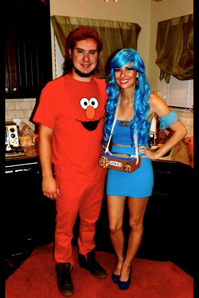 cookie monster and elmo halloween costumes diy - Halloween Costumes Elmo