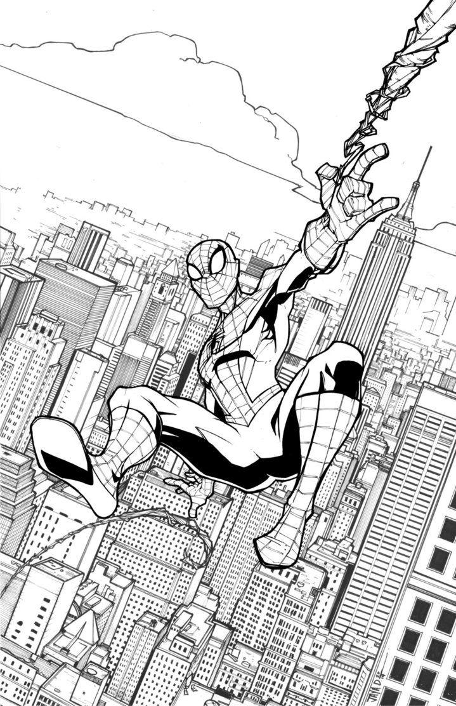 Amazing Spider Man Return Of Peter Parker By Harpokrates On Deviantart Coloriage Colorier Dessin
