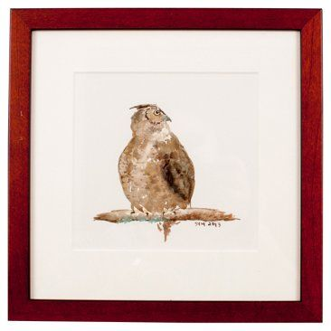 Check out this item at One Kings Lane! Great Horned Owl