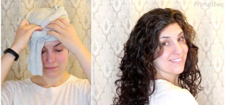 How To Plop Curly Hair Perfect Overnight Video Curly Hair Styles Plopping Curly Hair Wet Hair Overnight