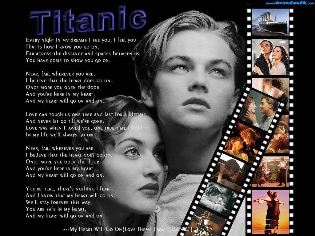 Titanic Wallpaper With Images Pop Lyrics Titanic Movie