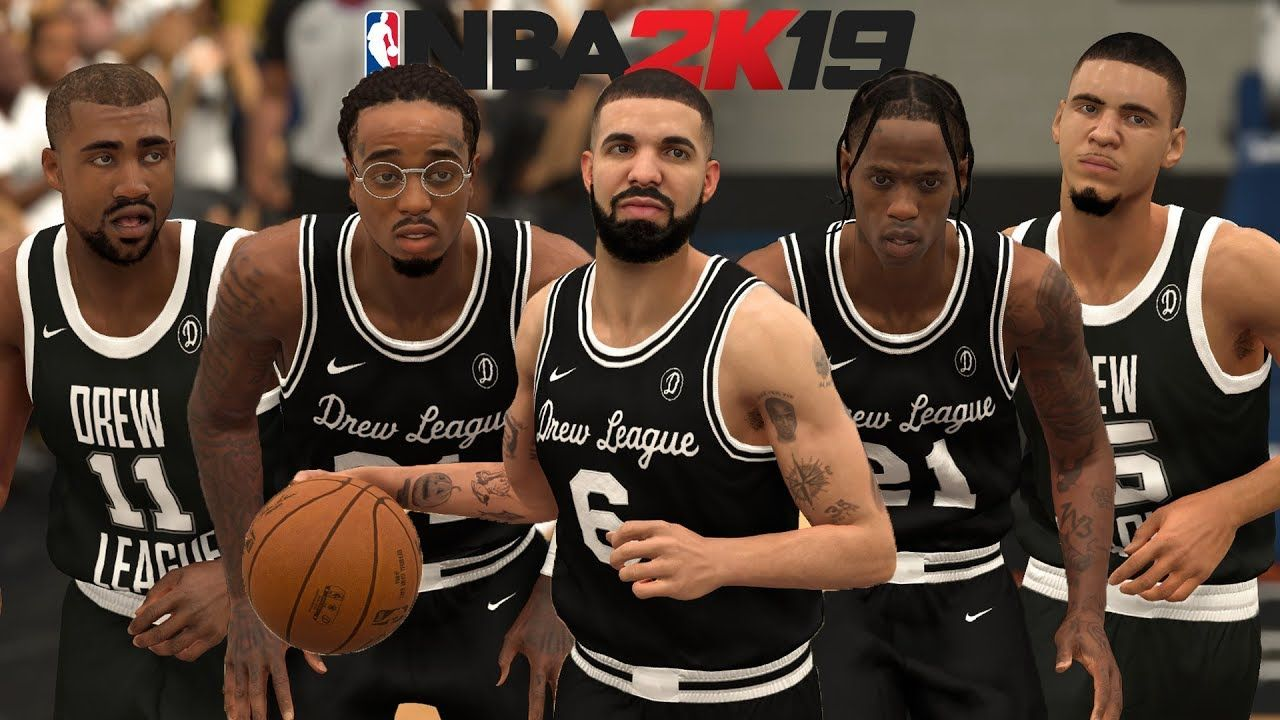 Rappers In NBA 2K19! Drake, Quavo, Travis Scott, Kanye, and