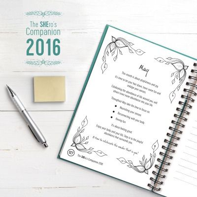 The SHEro's Companion 2016 A planner and diary for 2016