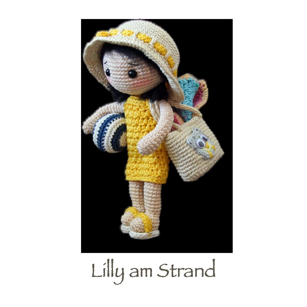 Lilly, CAROcreated | Knitted dolls, Crochet dolls, Doll patterns | 1000x1000