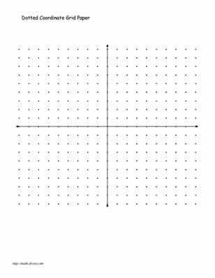Practice Your Graphing With These Printables Graph paper - cartesian graph paper
