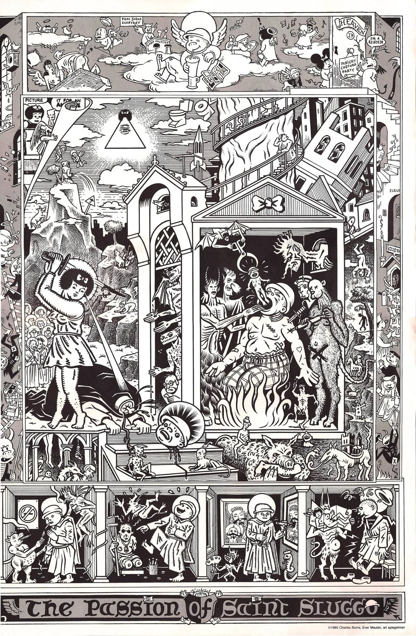 Art Spiegelman, Ever Meulen, Charles Burns - The Passion of Saint Sluggo
