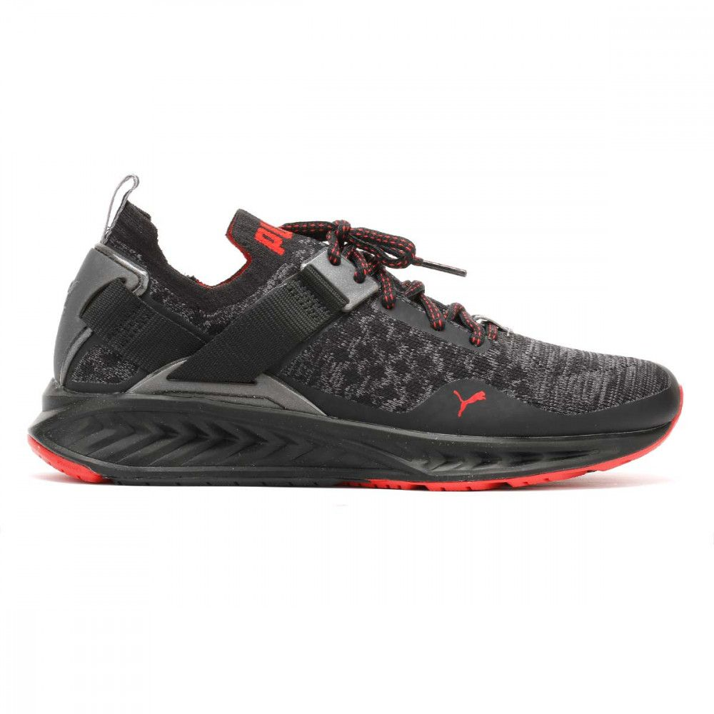 5fce98b86a9 ... cheap puma mens black red ignite evoknit lo pavement trainers 18992601  tower london 43f09 b164d