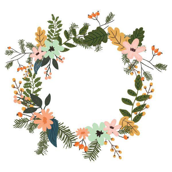 Jk Christmas 17 Png Liked On Polyvore Featuring Fillers Frames Flowers Fillers Rainbow Backgrounds Floral Border Design Doodle Art Flowers Flower Art
