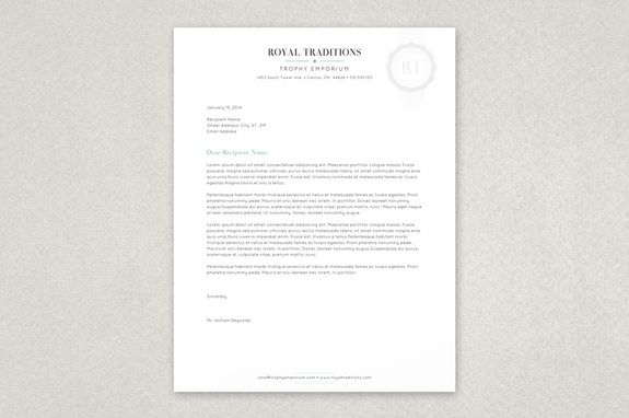 quality seal letterhead template this unique stationery features a subdued watermark like illustrative