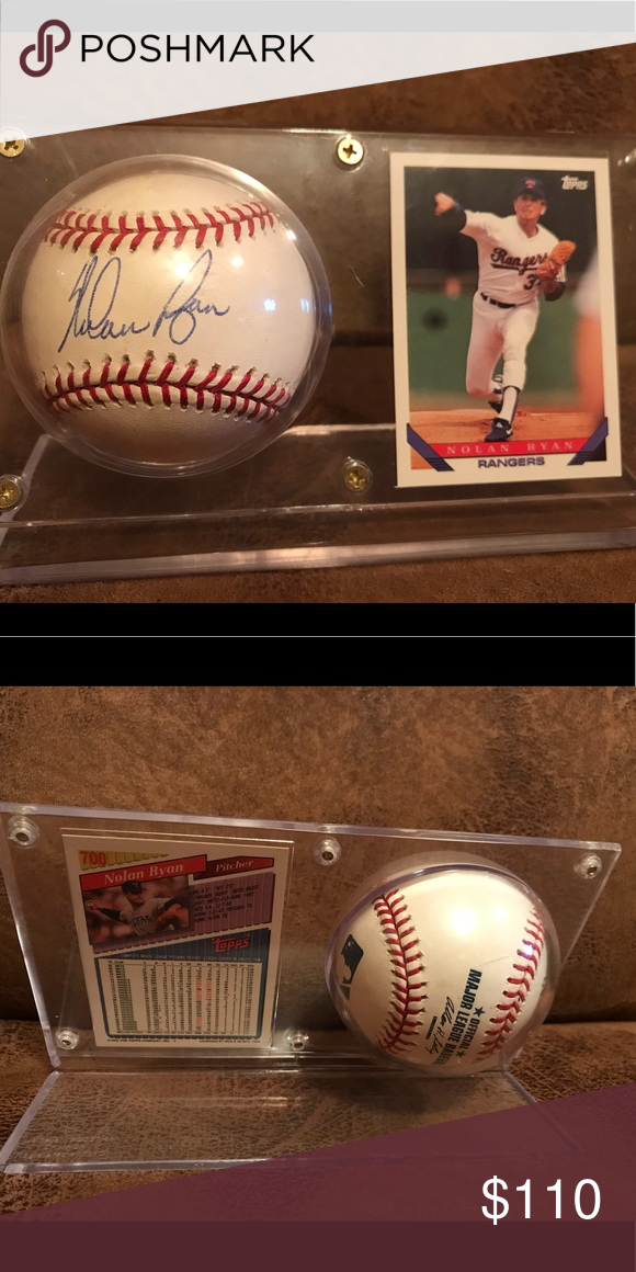 Baseball Collection Nolan Ryan Nolan Ryan Baseball Nolan