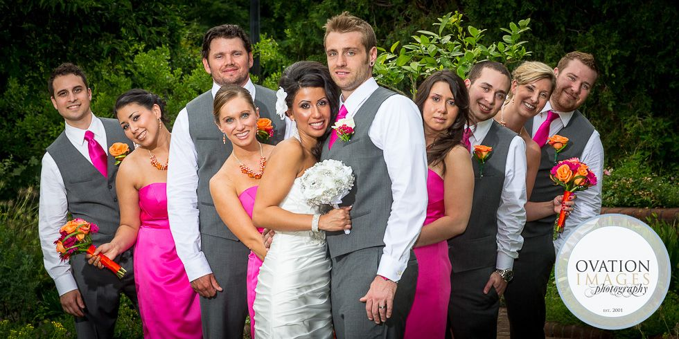 This Hot Pink Wedding Turned Heads At The Beautiful Phipps Conservatory And Botanical Gardens