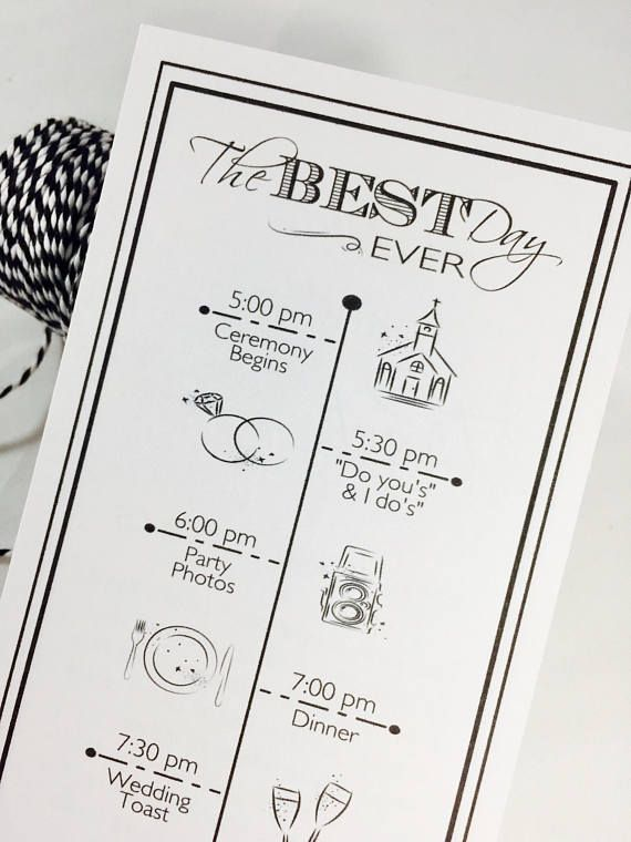 Wedding Timeline Itinerary Weekend Icon Program Welcome Bags Thank You Message Icons 20