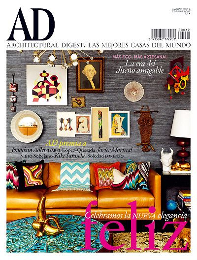AD España Mi revista de decoracion favorita InDesign ID