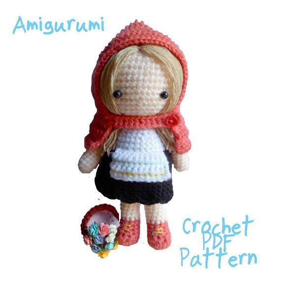 Amigurumi Crochet PDF Pattern  Little red by seaandlighthouse, $6.00
