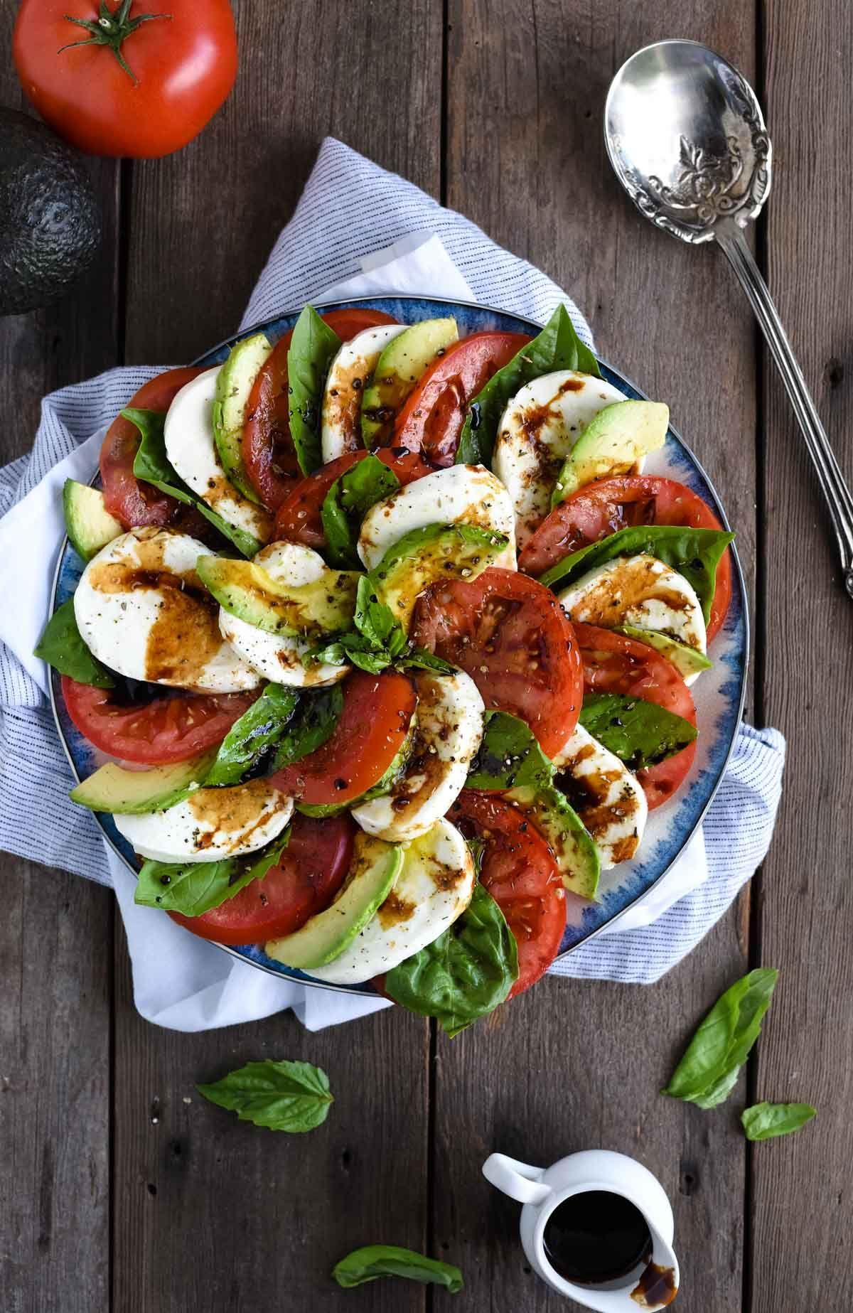 Caprese Salad Recipe Avocado