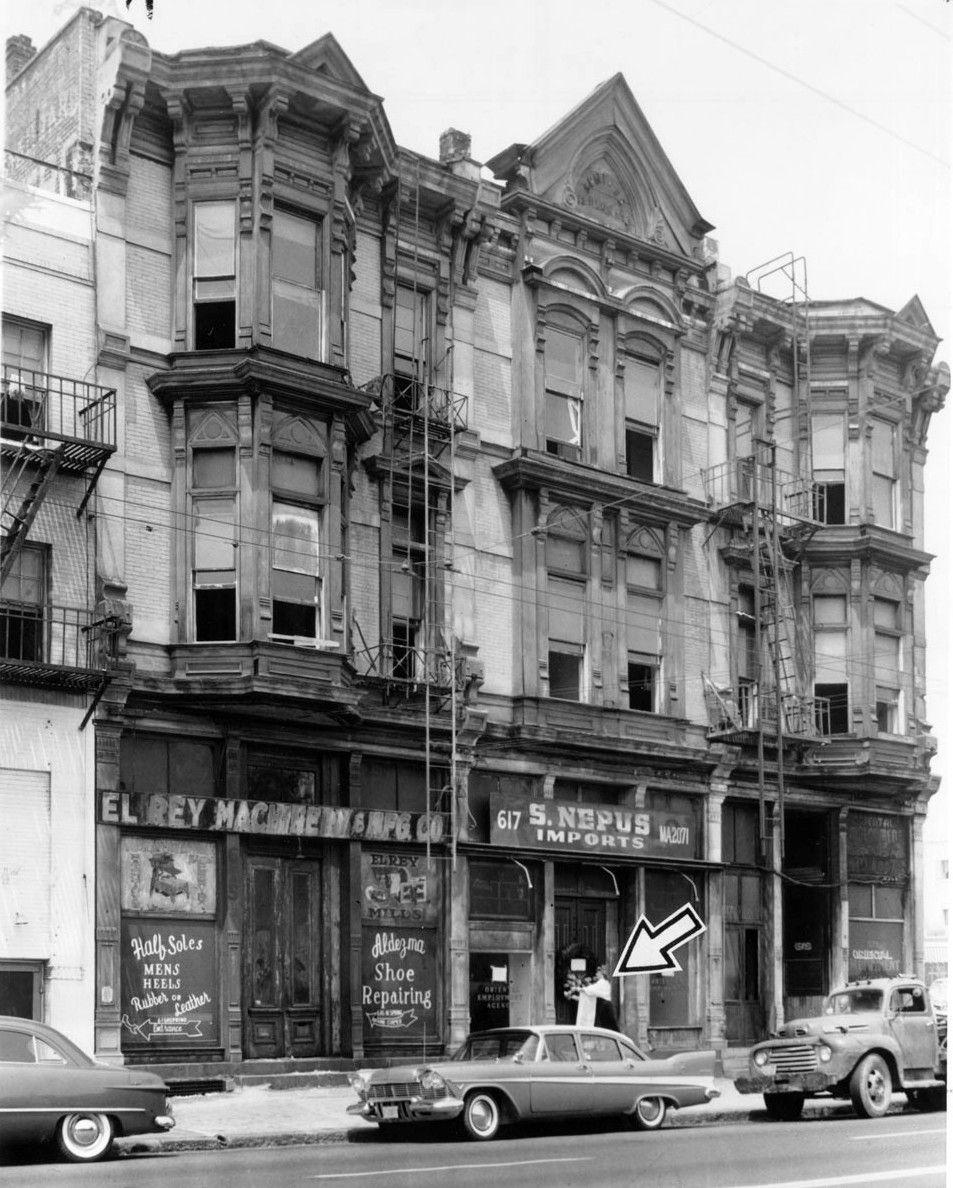 Sentous Building At 616 N. Main St. Los Angeles The Arrow