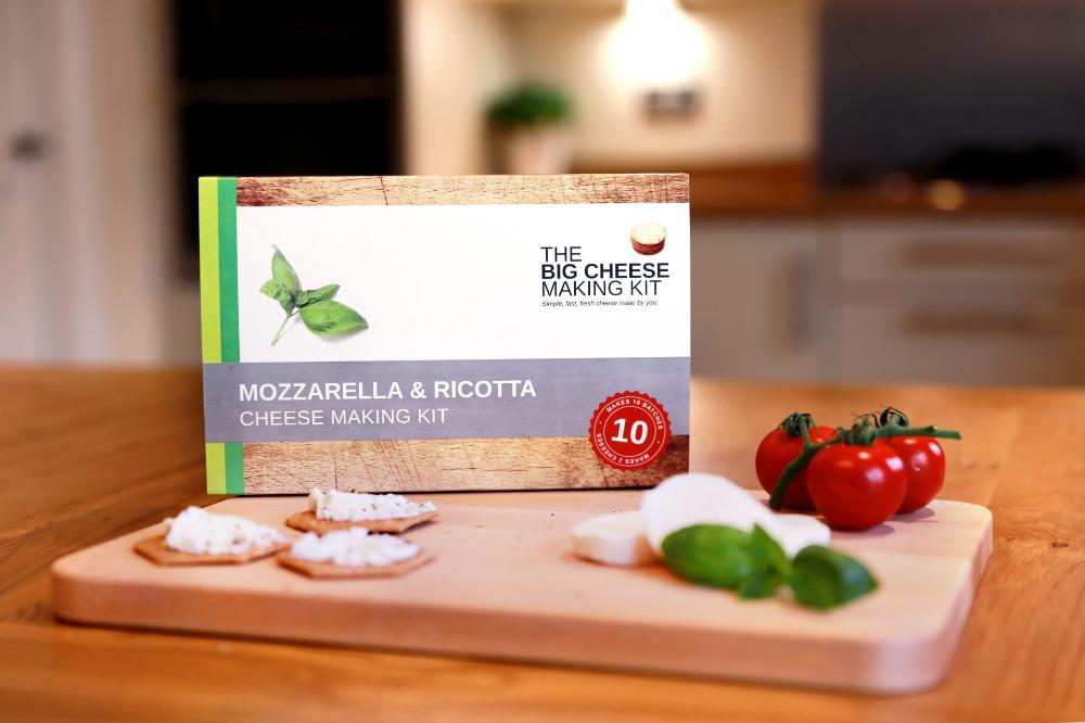 Mozzarella And Ricotta Kit The Big Cheese Making Kit In 2020 Cheese Making Kit How To Make Cheese Ricotta