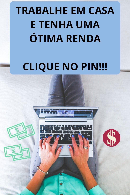 Trabalhe em casa (#rendaextra #trabalharemcasapelainternet)