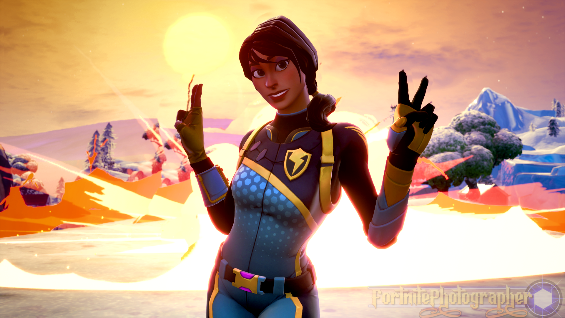 Time To Crush Them The New Bolt Outfit Is Here Thanks For The Support And Shares Love You All Best Gaming Wallpapers Gamer Pics Gaming Wallpapers