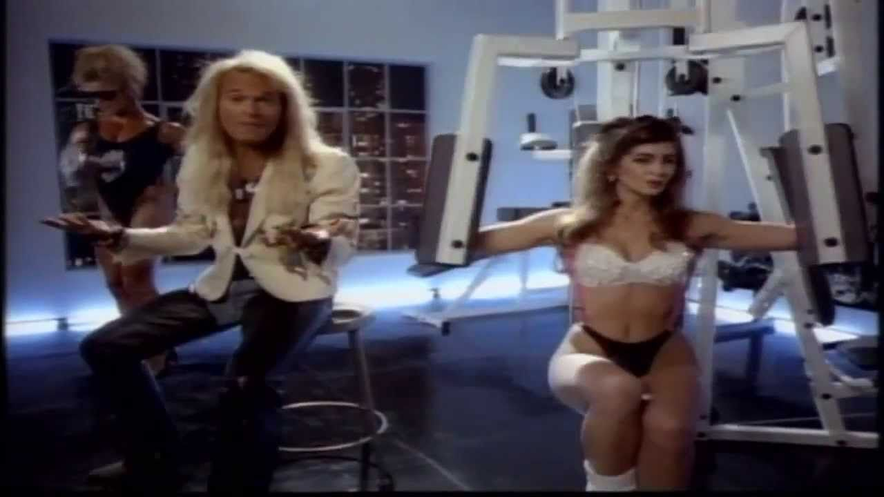 David Lee Roth A Lil Ain T Enough 1991 Music Video Widescreen 720p Youtube Anjanette Abayari 1 00 1 44 2 16 David Lee Roth David Lee Music Videos