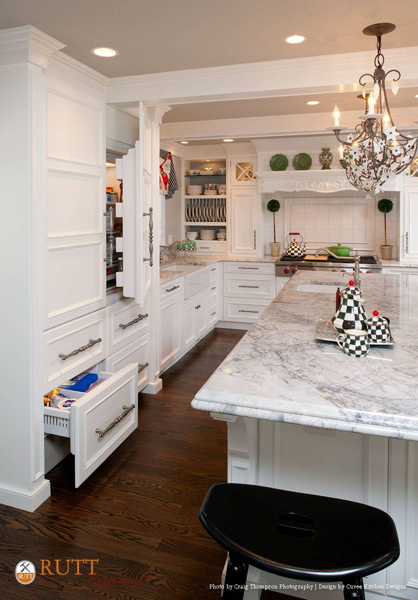 Interior Rutt Kitchen Cabinets rutt regency abbey door design super white painted cabinetry photos craig thompson photography