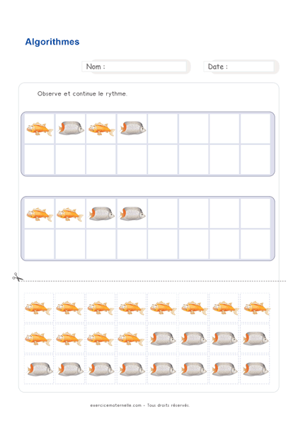 Maths GS Maternelle à imprimer | Fiches Mathématiques Grande Section en 2020 (avec images ...