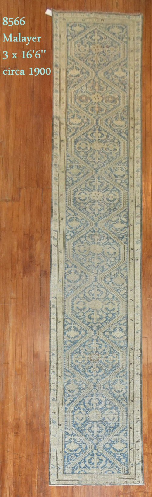 "Rug Number: 8566 Size: 3' x 16'6""   Rugs R Us Online, A Division of J&D Oriental Rugs Co."