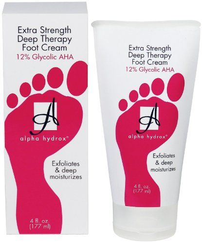 Alpha Hydrox Extra Strength Deep Ther Alpha Hydrox Foot Cream Fragrance Free Products