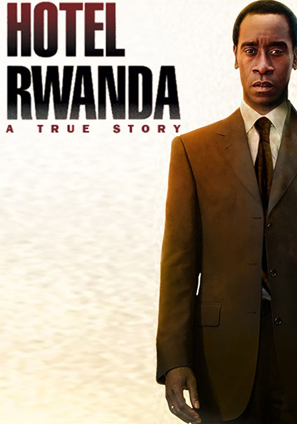 an analysis of the film hotel rwanda Once i finished watching the movie hotel rwanda, the first thought that came up to me was that the structure and the lesson of the story seems to be similar with the very well-known movie schindeler's list: a very average, wise man with a motive that e.