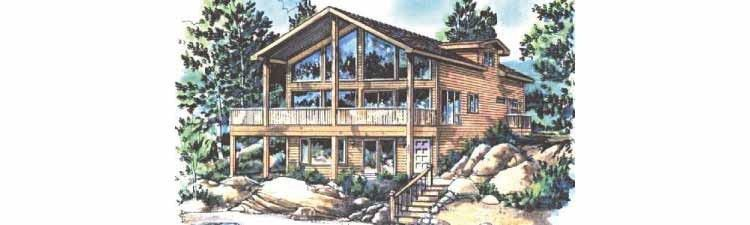 Eplans Contemporary-Modern House Plan - One Bedroom Contemporary - 1345 Square Feet and 1 Bedrooms(s) from Eplans - House Plan Code HWEPL61686