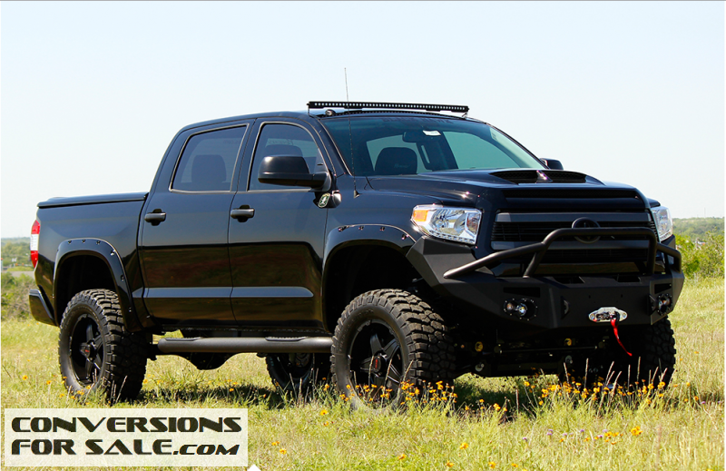 Listing All Trucks >> 2015 Toyota Tundra Regency Black Hawk Lifted Truck Showcase